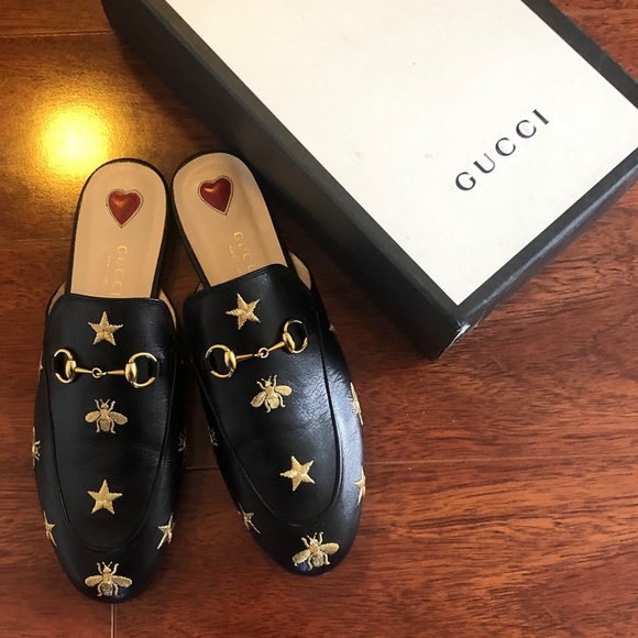 bd494fa0b Gucci Shoes   Mules Bees And Star   Poshmark